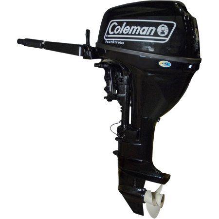 Watersnake Coleman 9.9 HP Outboard Motor, Multicolor
