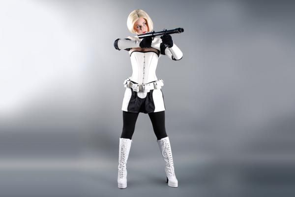 Darth Vader and Stormtrooper Costumes for Female Fans of Star Wars & Darth Vader and Stormtrooper Costumes for Female Fans of Star Wars ...