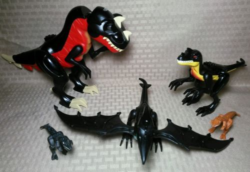 Lego Dinosaur Lot Large T Rex Tyrannosaurus Raptor Pterodactyl