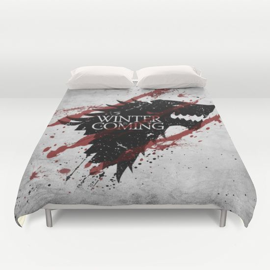 Top Stark Clan Game Of Thrones Duvet Cover | Housses de couette  PA67
