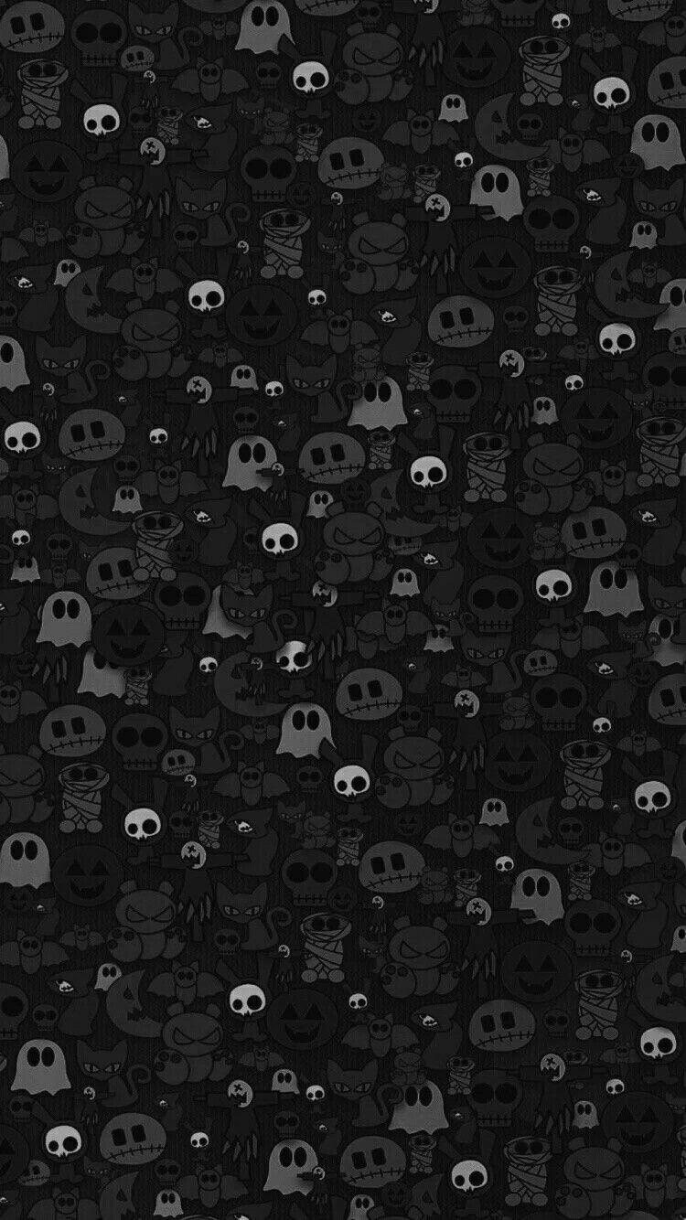 Halloween Background Art Black Wallpaper Dark Wallpaper Cute Iphone Wallpaper Pattern Black Phone Wallpaper Dark Wallpaper Iphone