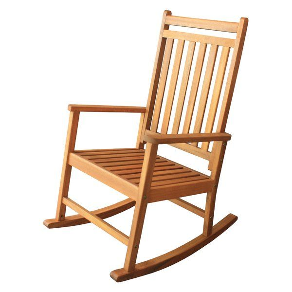 classic fit ea63d 0d52b Titouan Hardwood Rocking Chair in 2019 | SC House | Patio ...