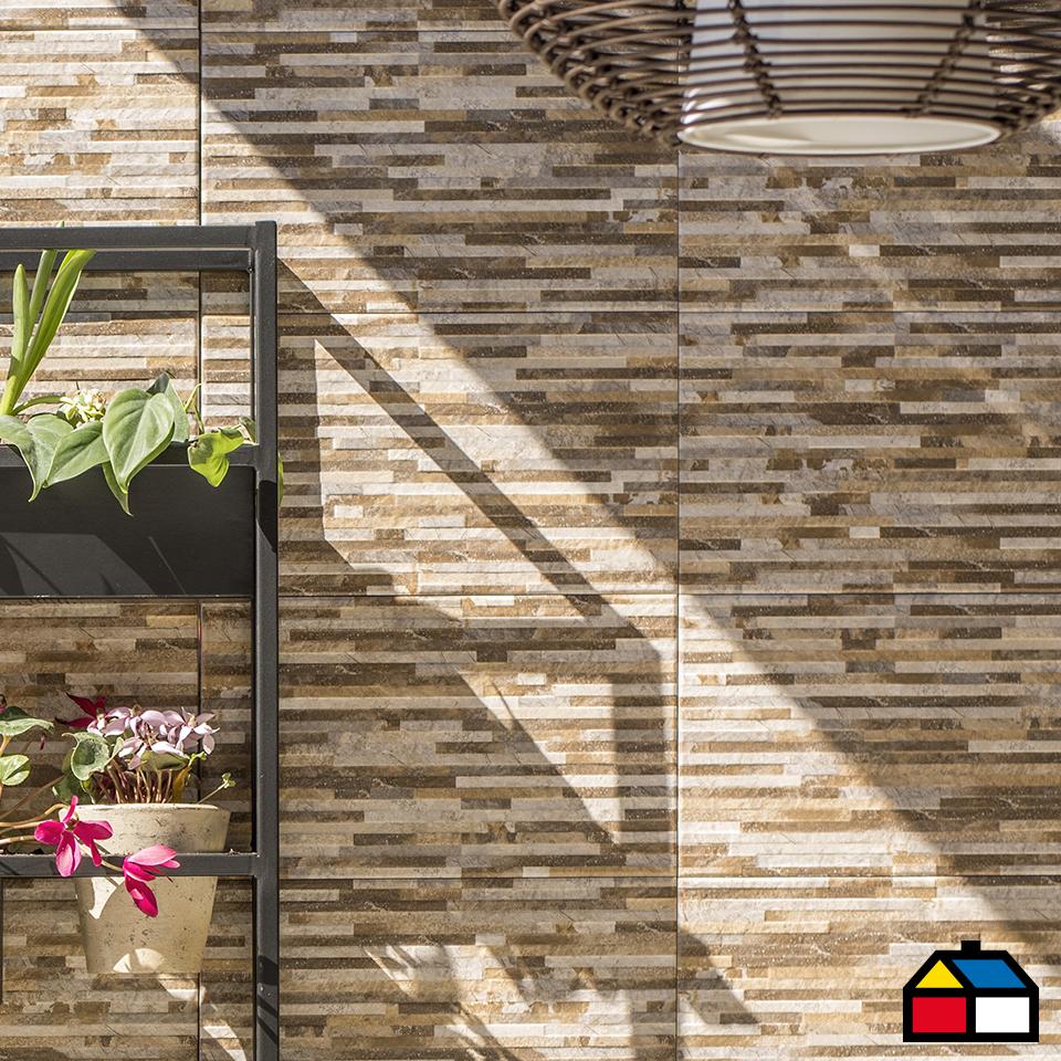 Primavera Airelibre Sodimac Jardin Piedras Muros Pisos Ceramica Exterior Muros