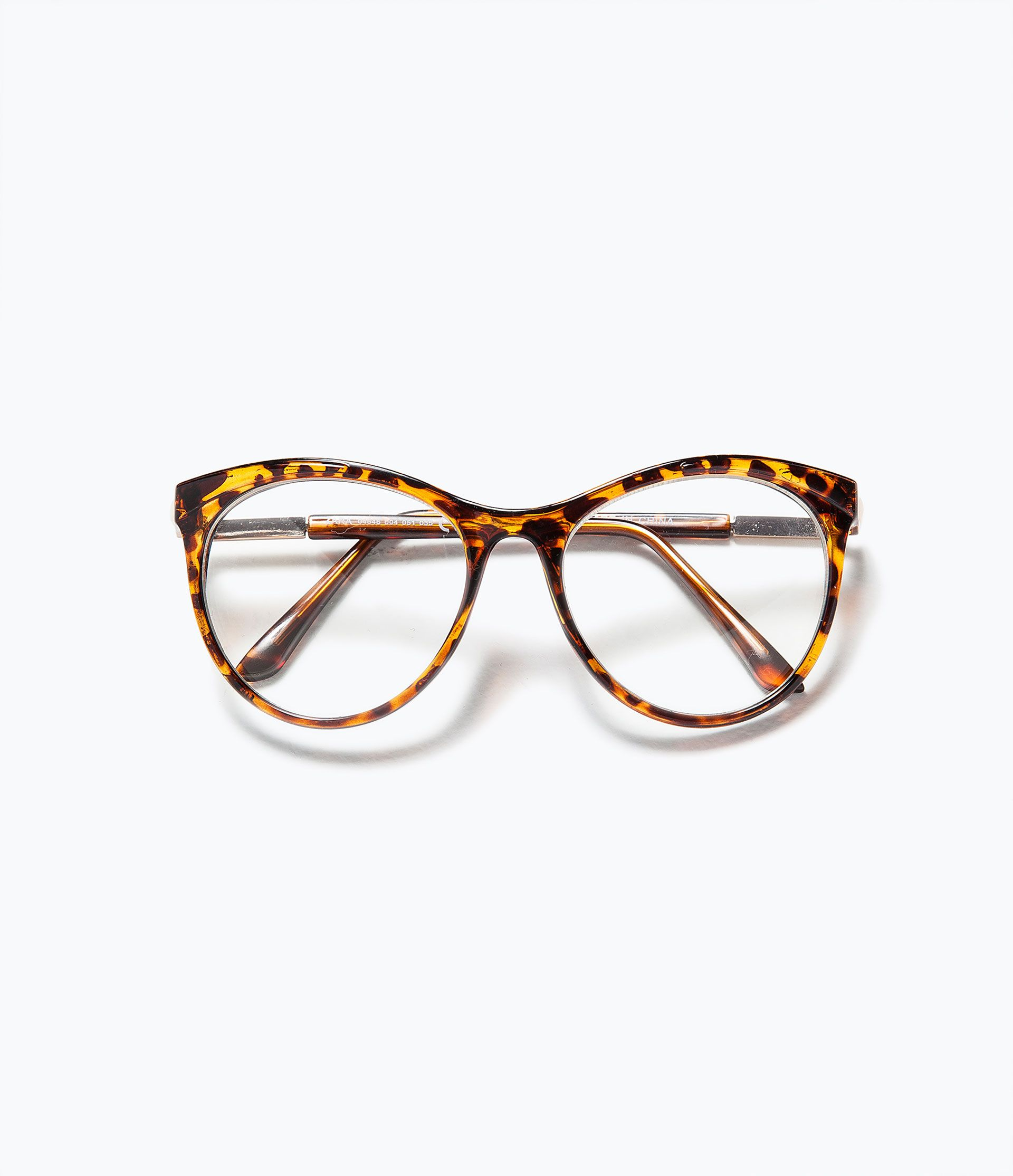 1d7f1a508579 TORTOISESHELL EFFECT GLASSES - Accessories - Accessories - WOMAN | ZARA  United Kingdom