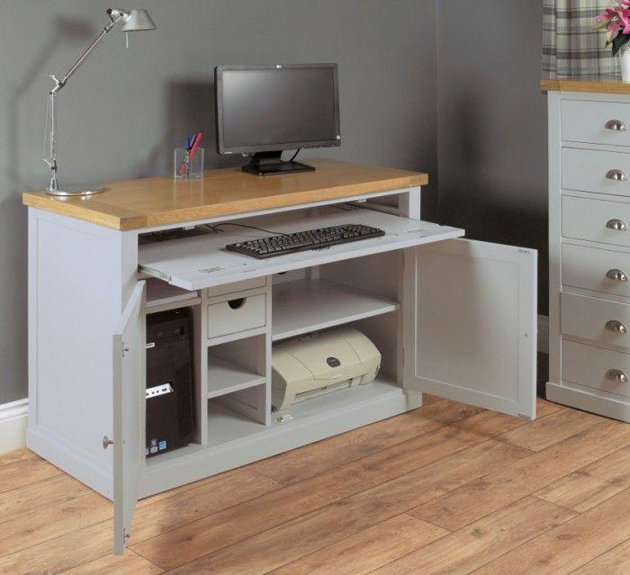 Chadwick Hidden Home Office Computer Desks Furn On