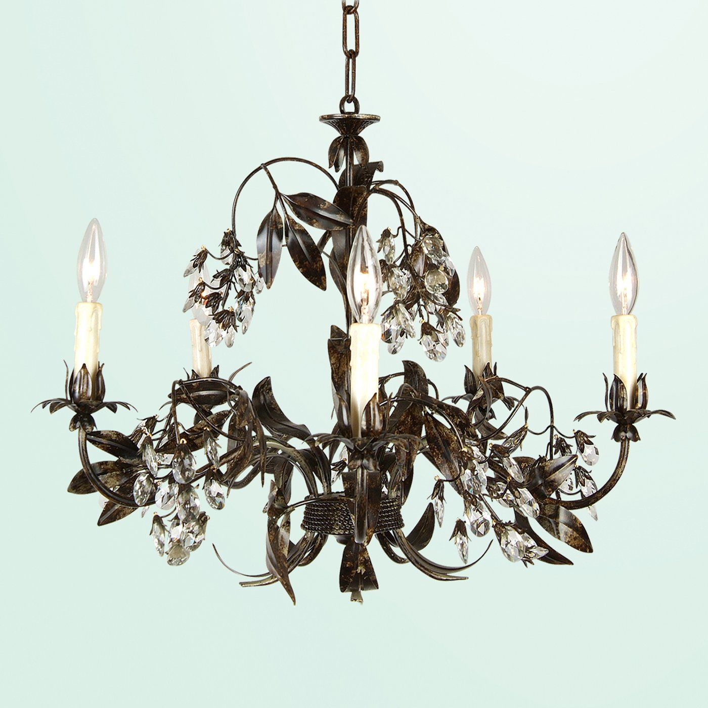 lowes lighting chandelier | Bethel International FAL78-A2 6 Light ...