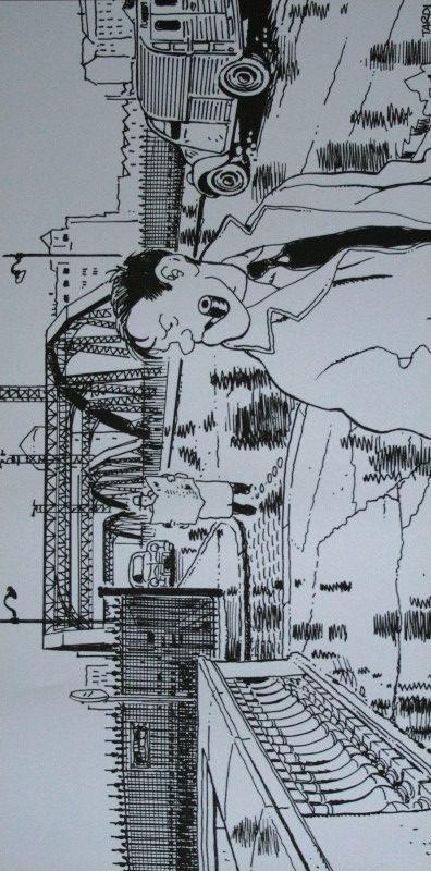 Jacques TARDI : Nestor Burma dans le 13e Arrondissement de Paris