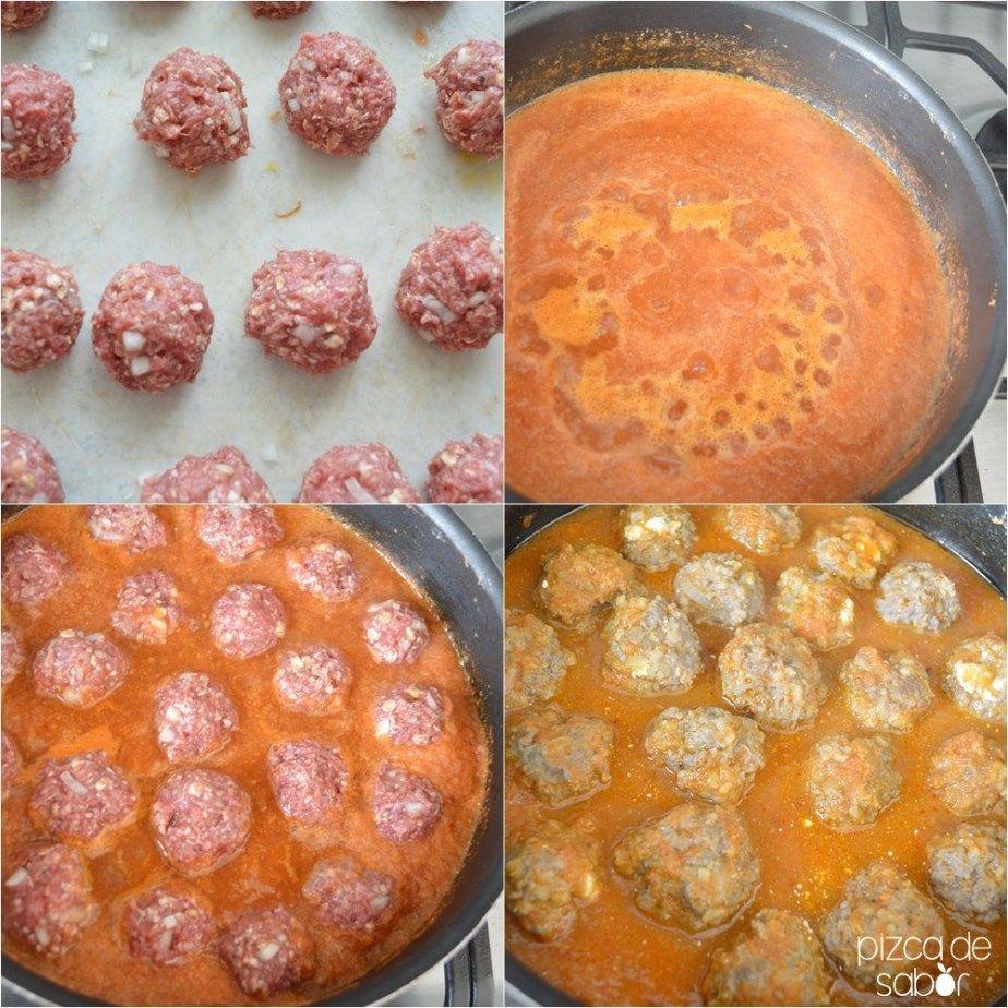 Albóndigas Con Salsa De Tomate Y Chipotle Pizca De Sabor Receta Recetas De Comida Mexicana Albóndigas En Salsa De Chipotle Albondigas