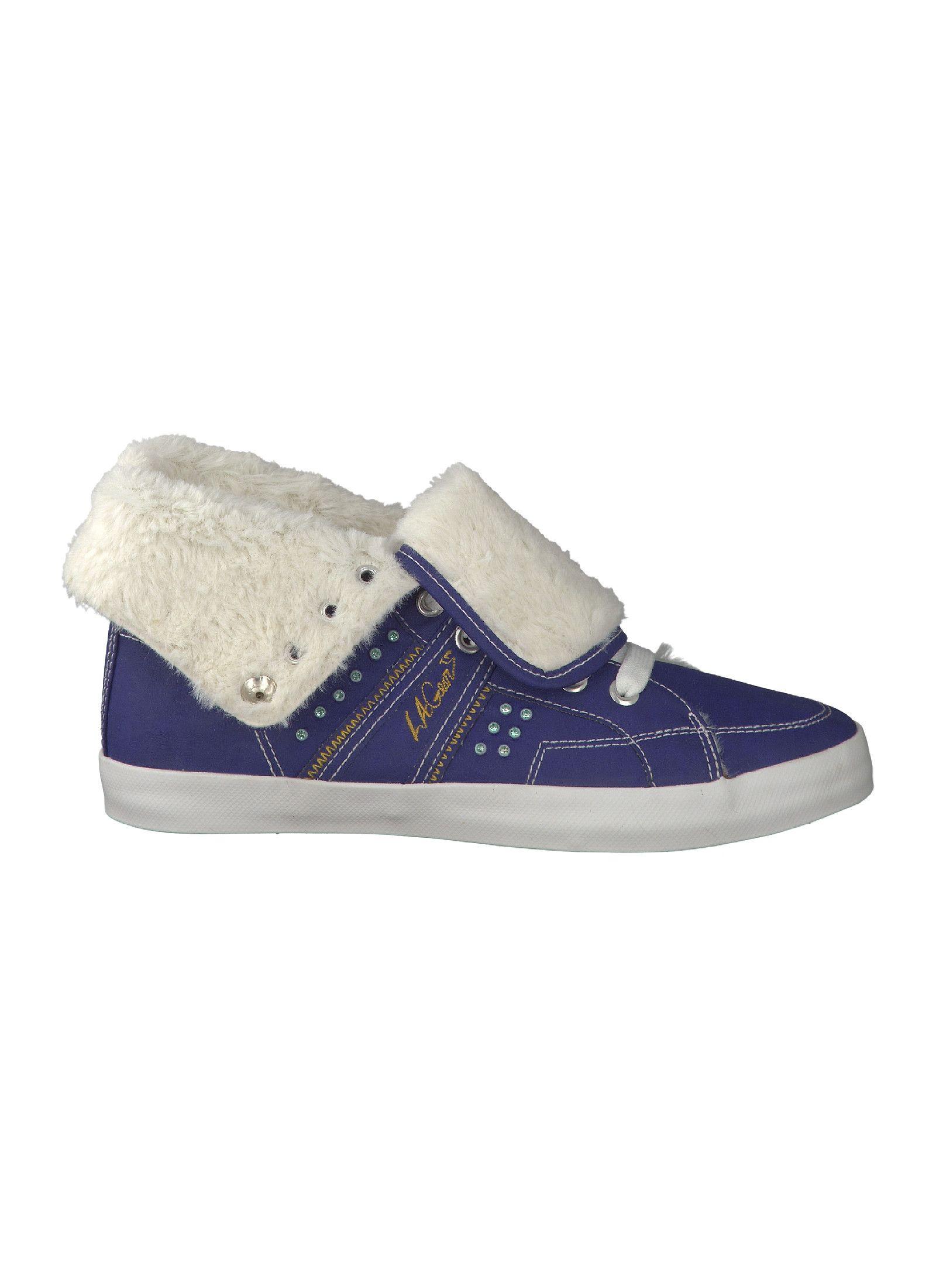 on sale c510a 5adbc Reno - LA Gear - Bootie, Mittelblau - Sneaker - Damen ...