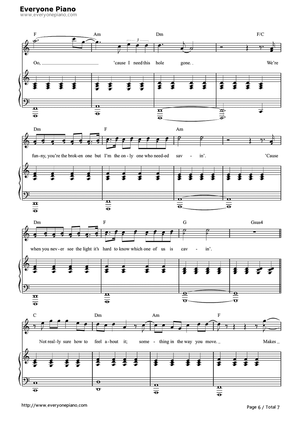 Free stay rihanna and mikky ekko sheet music preview 6 page 6 free stay rihanna and mikky ekko sheet music preview 6 page 6 hexwebz Gallery