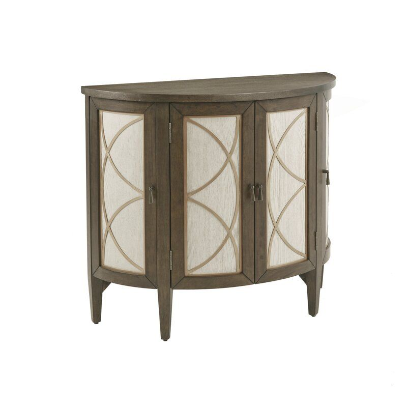 Mccaysville 2 Door Half Circle Accent Cabinet Reviews Joss Main In 2020 Accent Doors Accent Chest Madison Park
