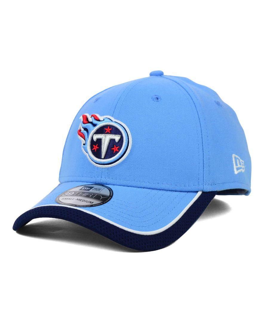 New Era Tennessee Titans On Field 39THIRTY Cap  bc39b5eba