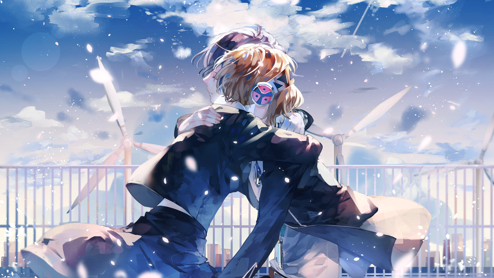 Twitter アイギス キャラクタースケッチ ペルソナ5 イラスト