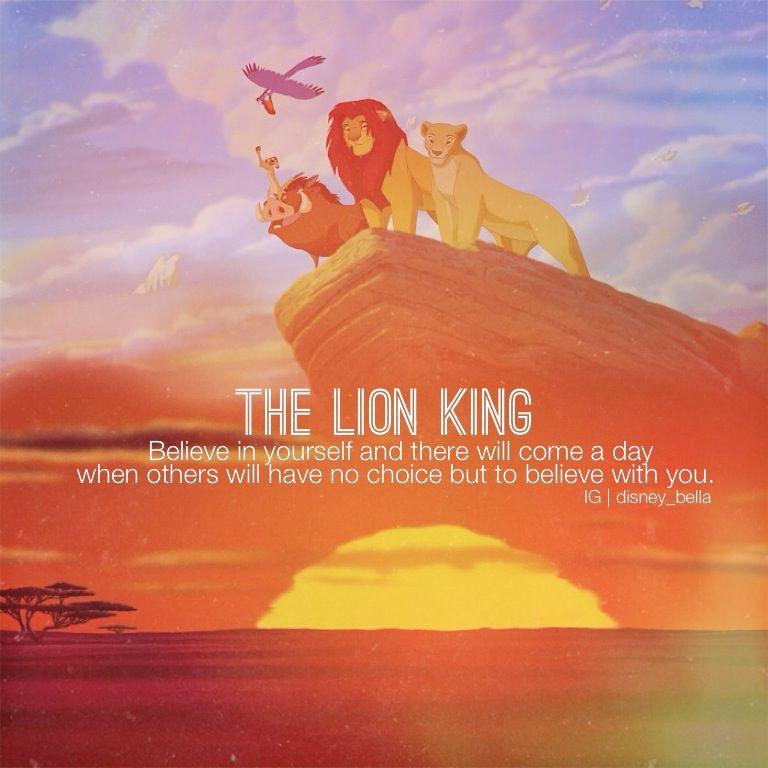 Disney Quotes, Lion King