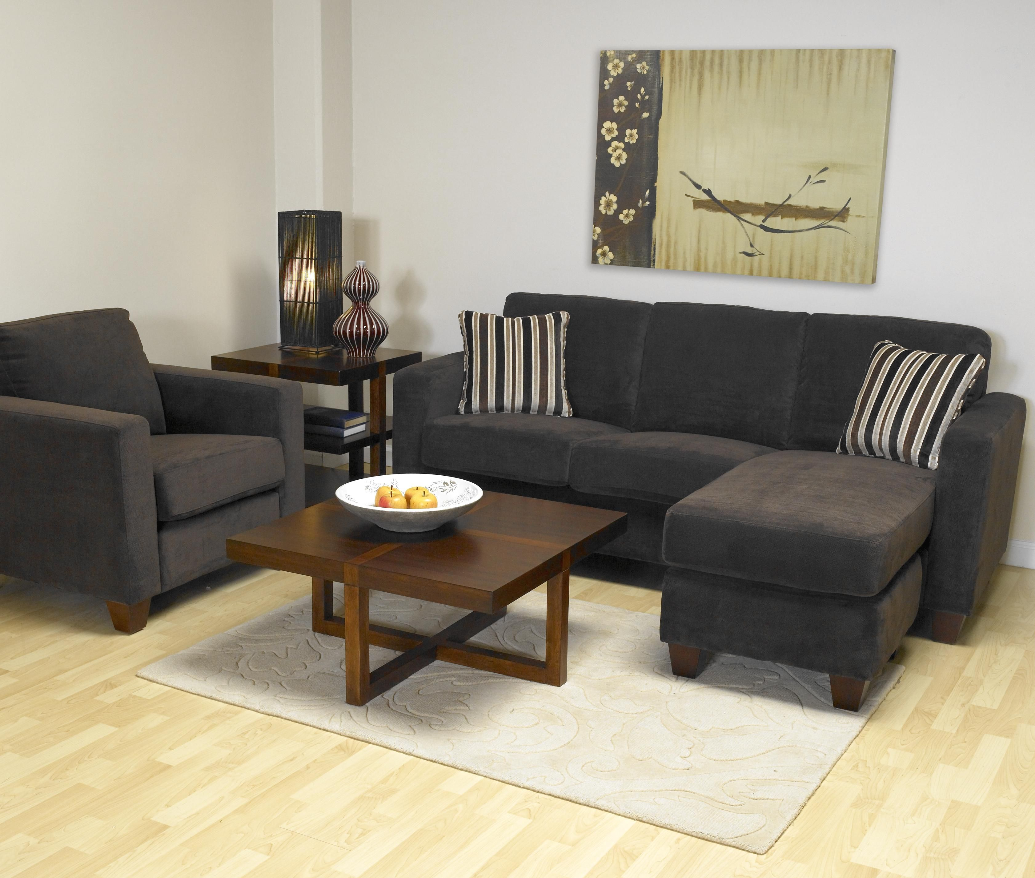 Leif Small Sofa Sectional with Comfortable Chaise Component by Stylus - Stoney Creek Furniture - Sofa : condo sectional sofa toronto - Sectionals, Sofas & Couches
