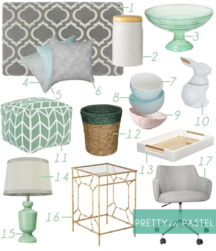 Getting Ready For The Spring With Emily Hendersonu0027s Pastel Home Decor Style  Guide. Http: