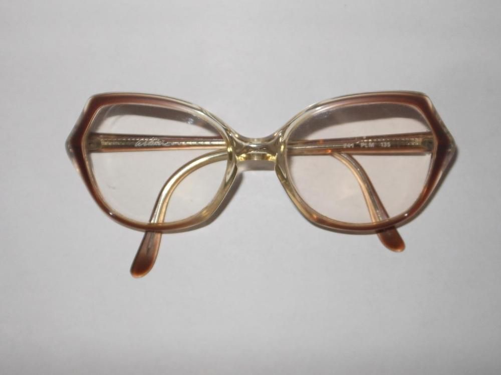 ee35d35bab5 Vintage Wilshire Designs 241 PLM 135 Clear plastic Eye Glass Frames   WilshireDesigns  any