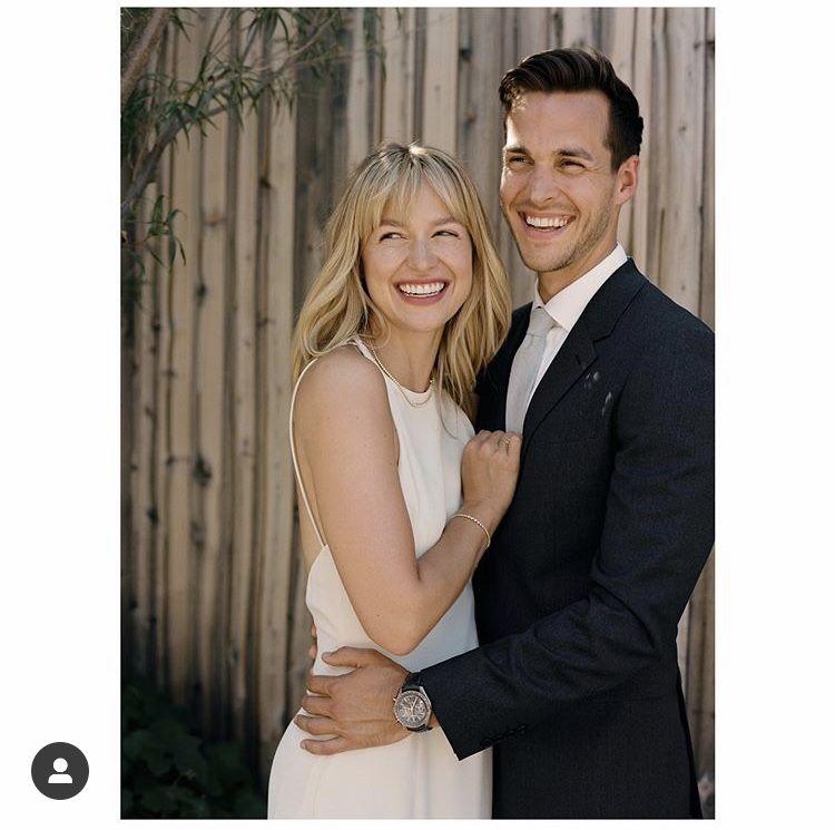Chris Wood and Melissa Benoist wedding photos 💞🎂👰❤️  Melissa