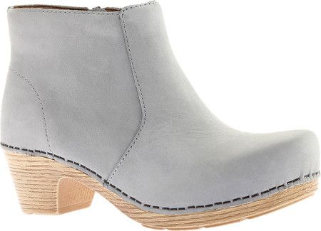 a9abd47102db Women s Dansko Maria Ankle Boot - Light Grey Milled Nubuck with FREE  Shipping   Exchanges.