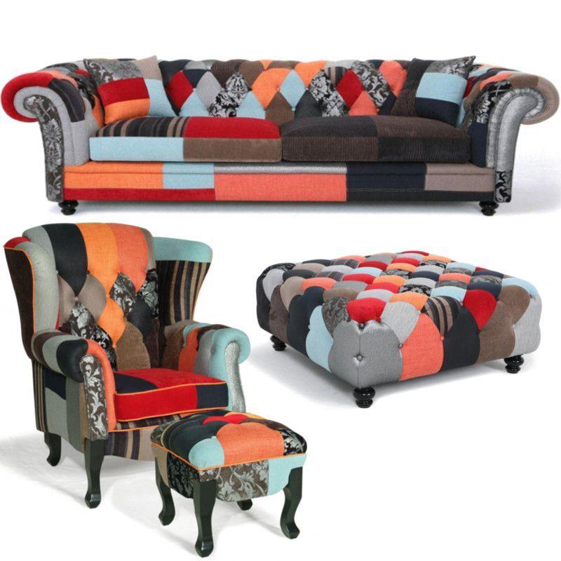 Chesterfield Patchwork Sofa : chesterfield patchwork sofa refil sofa ~ Indierocktalk.com Haus und Dekorationen