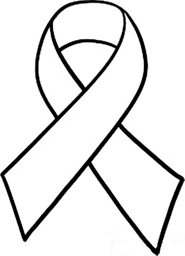 red ribbon week coloring pages # 11