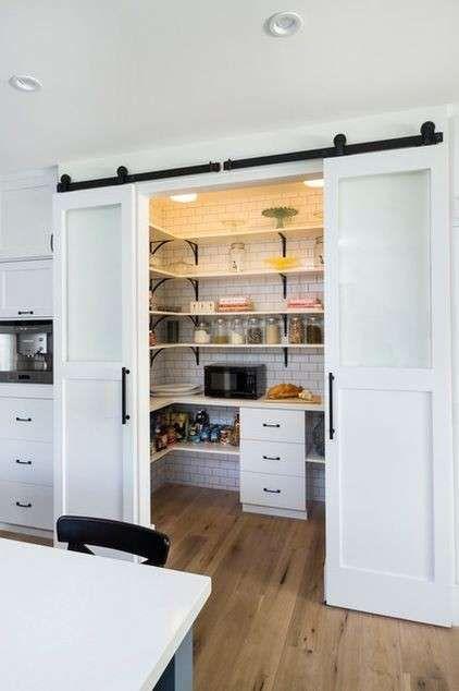 Come ricavare un ripostiglio - Ricavare un ripostiglio in cucina ...