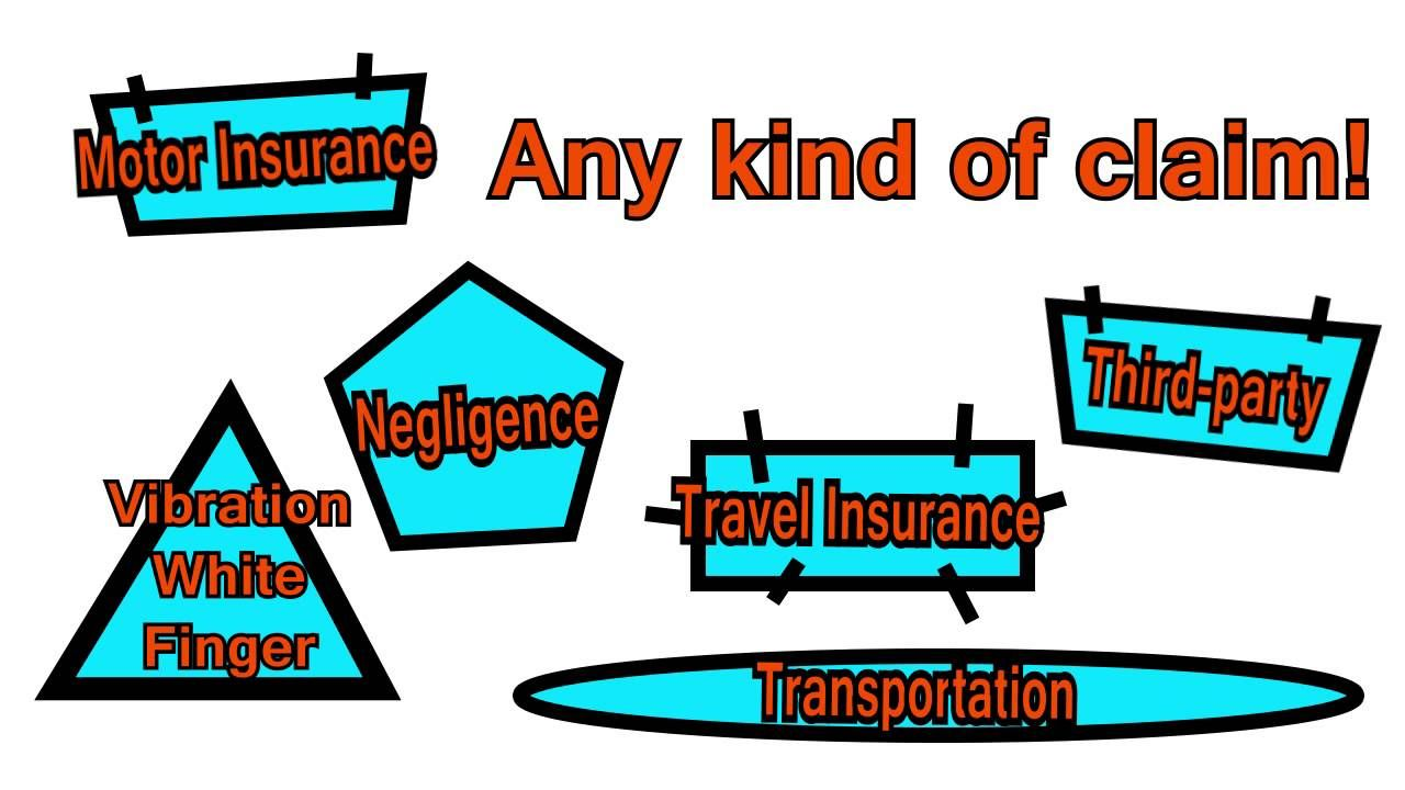 How to file a motor accident travel insurance and other