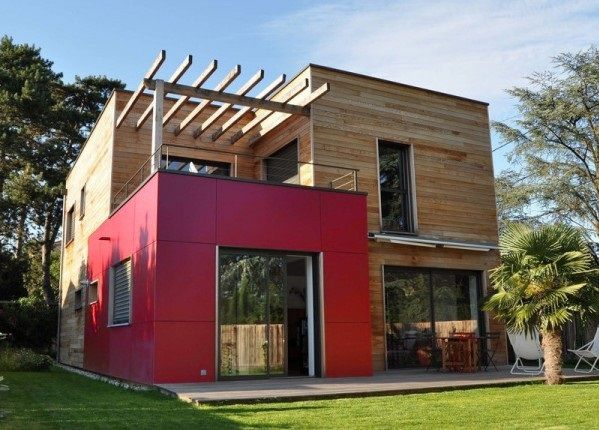 20 fotos e ideas de colores para fachadas de casas y for Exteriores de casas