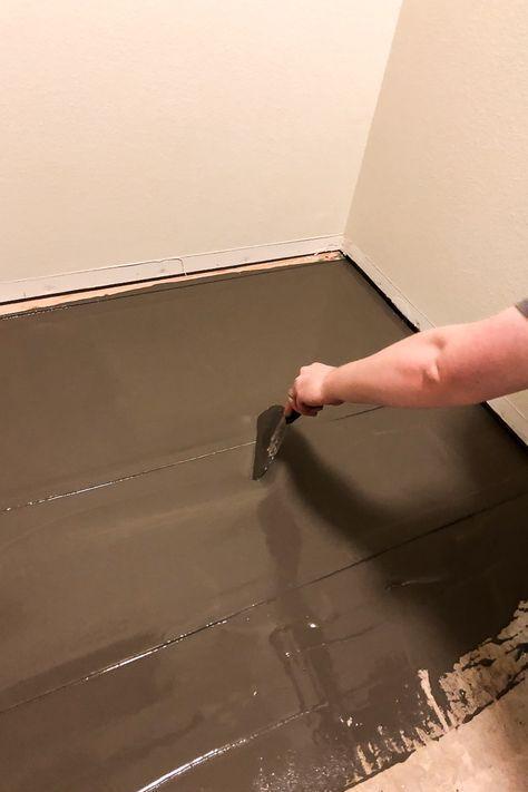 how to fix an uneven subfloor  inexpensive flooring
