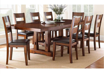 Steve Silver Zp 700 Table W 8 Chairs Side Chairs Dining Dining Table Dining Room Table
