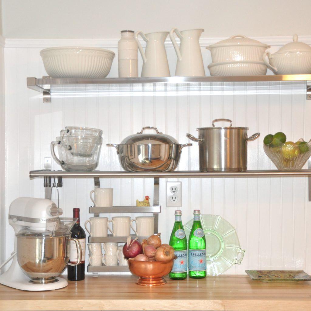 Decorative Kitchen Counter Shelves  Httpavhts  Pinterest New Decorative Kitchen Shelves Design Inspiration