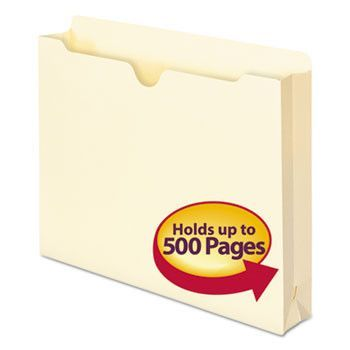 Manila File Jackets, Letter, 11 Point, Manila, 50/box
