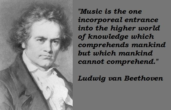 Ludwig Van Beethoven Quotes By At Quotesgram Musical Nonsense In
