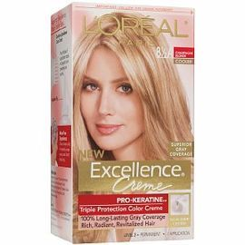 L Oreal Excellence 8 5a Champagne Blonde In 2020 Beige Blonde
