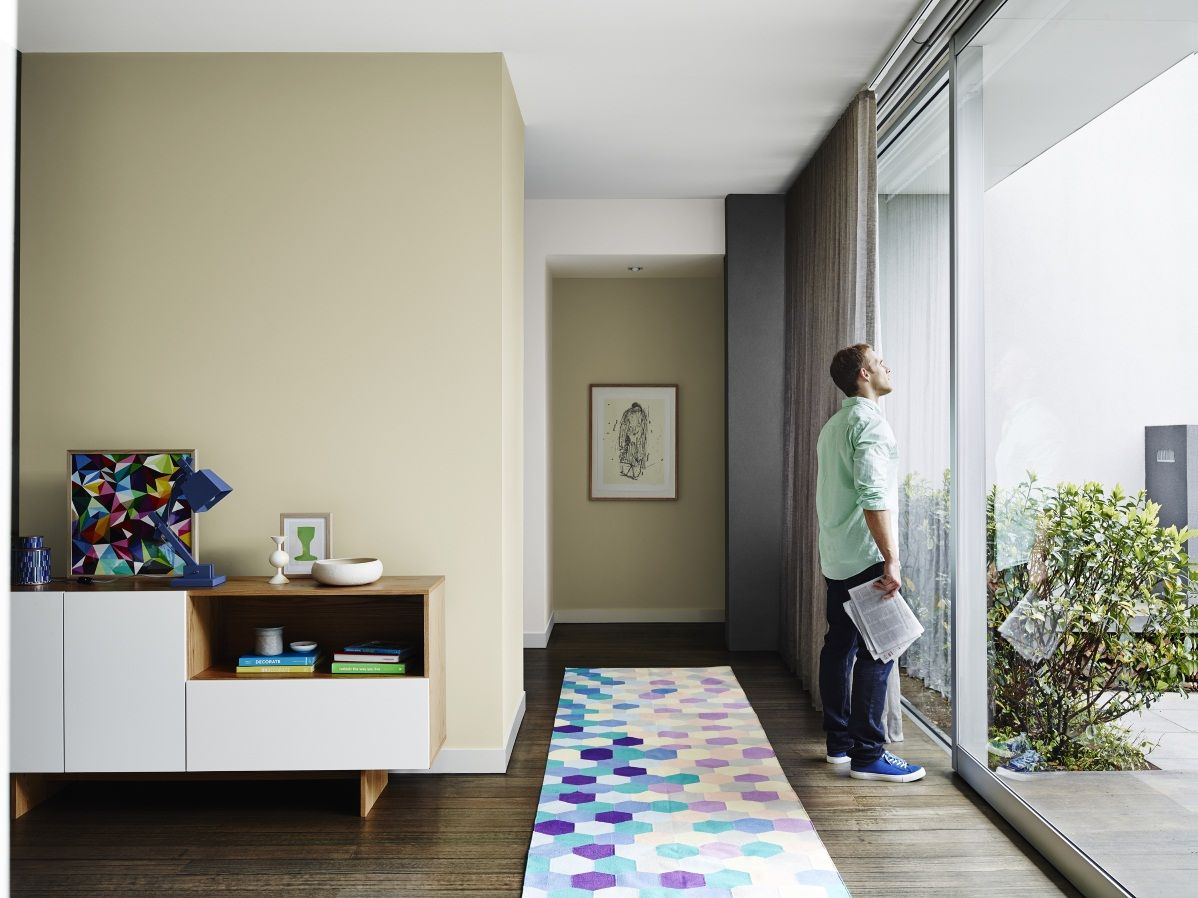 Armadale Hallway Get The Look Dulux Paints Handmadelinen Naturalwhite Paint And
