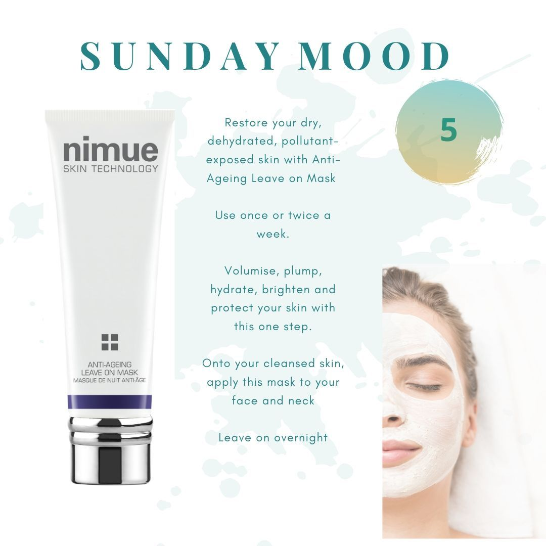 Anti Ageing Leave On Mask Esse Co Nimue Skin Care Specialist In 2020 Anti Aging Face Mask Face Mask Treatment Skin Care Specialist