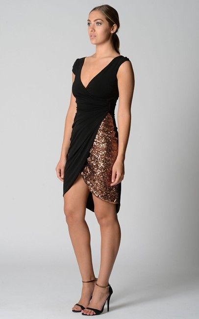 Cocktail dress.. Like two tone