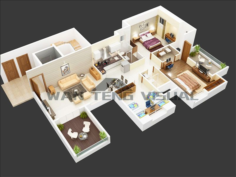 Who Else Wants To Know The Secrets Of 3d Floor Plan Drawing In 2020 3d House Plans House Plans Small House Plans