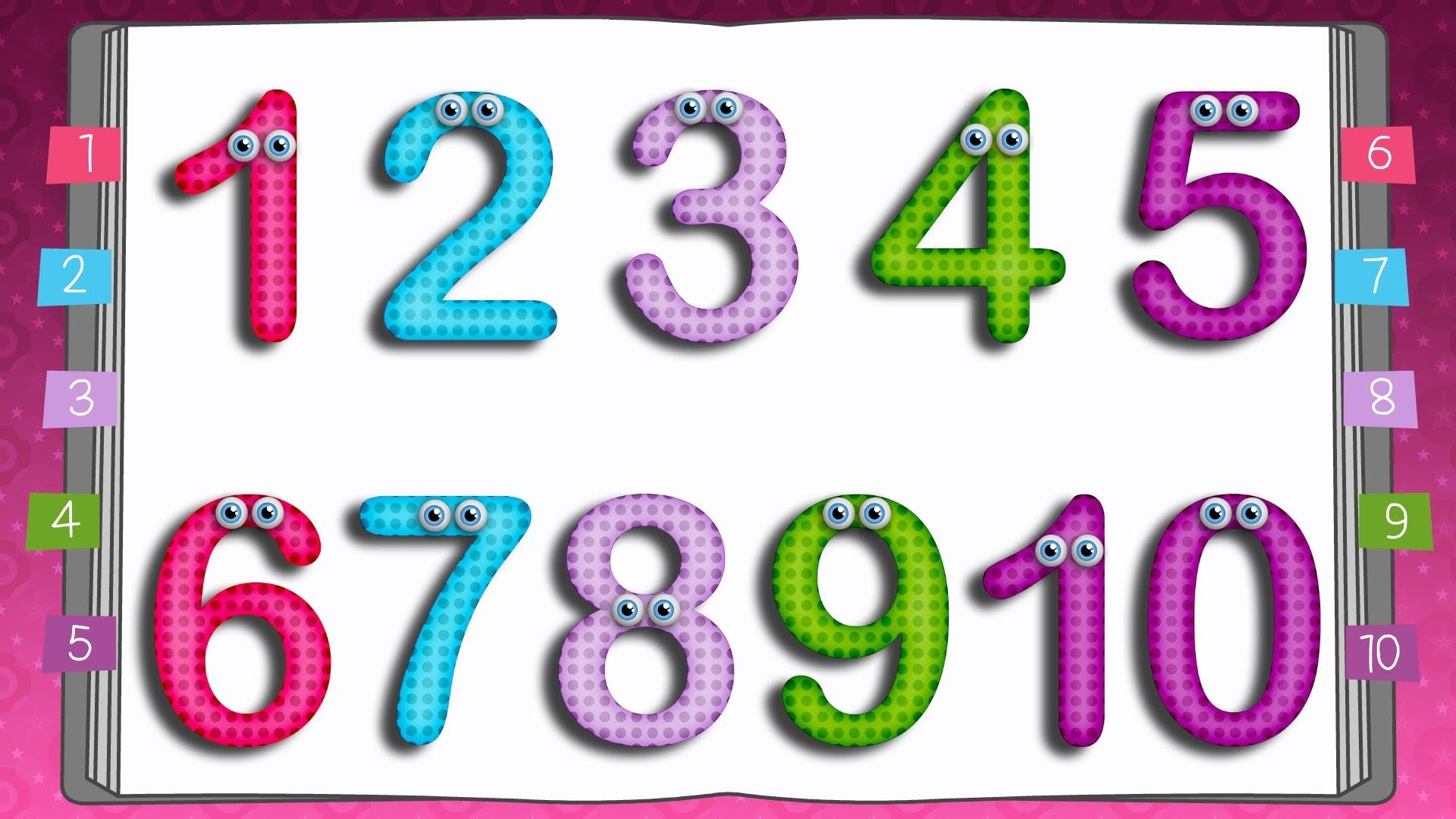 10 Little Numbers Songs For Children From Edubuzzkids This Is The Numbers Writing Activity