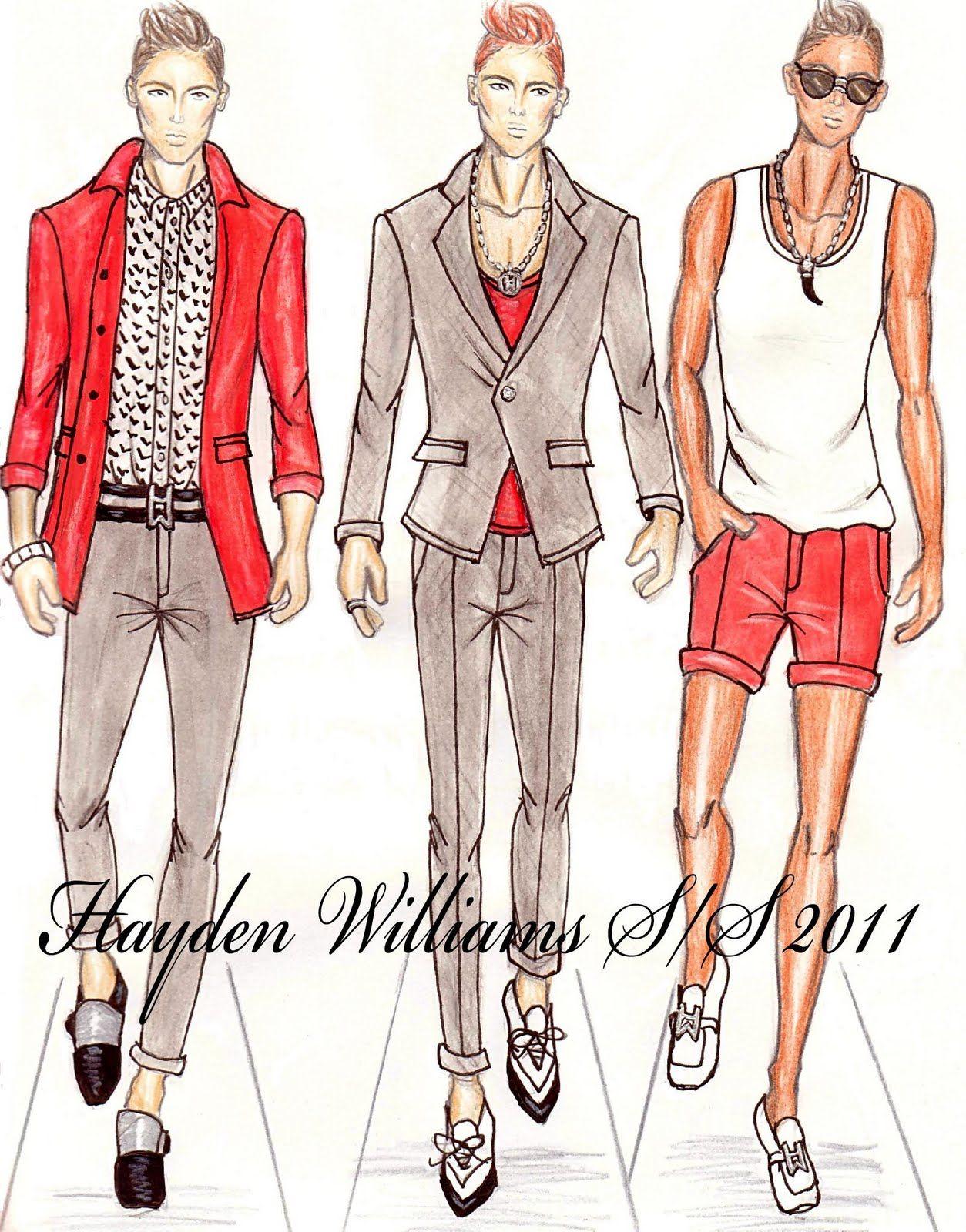 Hayden Williams Fashion Illustrations: September 2010
