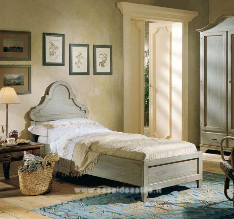 Camera da letto in stile country - Letto singolo in stile country ...