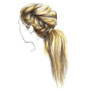 How to Draw Braids: 3 Different Styles in 2020 | How to draw braids, How to draw hair, Braids