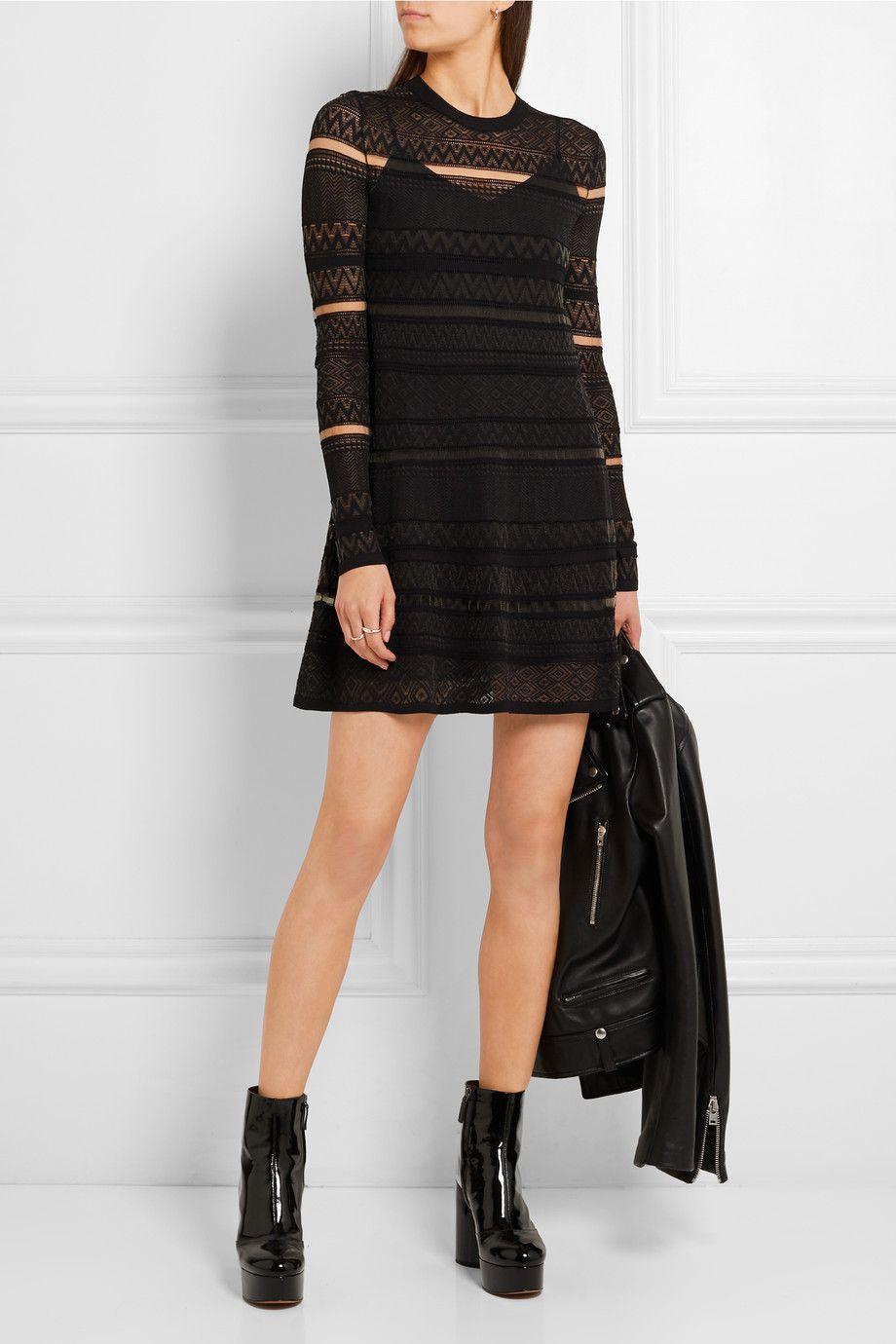 1ff498161ecd6 McQ Alexander McQueen - Knitted mini dress | dresses | Dresses, Mcq ...