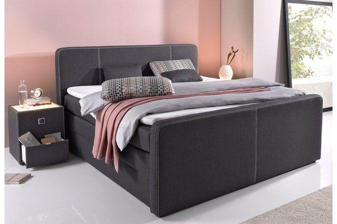 Boxspringbett Mit Bettkasten Inkl Topper Und Kissen Wohnzimmer Design Betten Kaufen Bett Modern