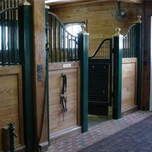 Horse Stalls - European Horse Stalls - Custom Stable Equipment