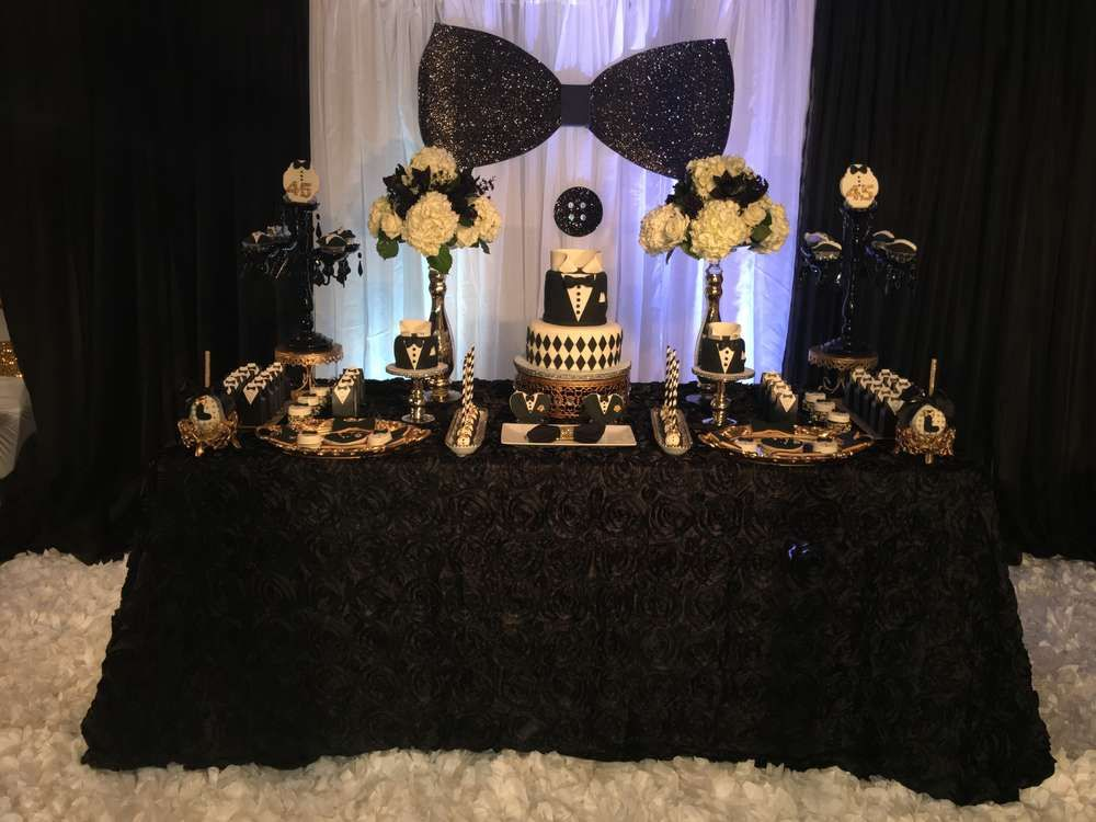 Pin On Mr Onederful Tuxedo Theme Party