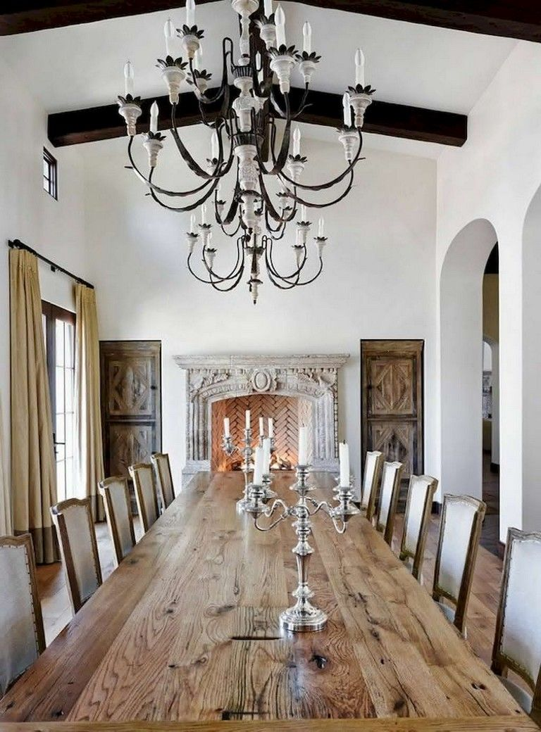 83+ Stunning Classic Farmhouse Dining Room Design Ideas images