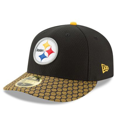 finest selection 0470d e74ac ... purchase mens new era black pittsburgh steelers 2017 sideline official  low profile 59fifty fitted hat fb242