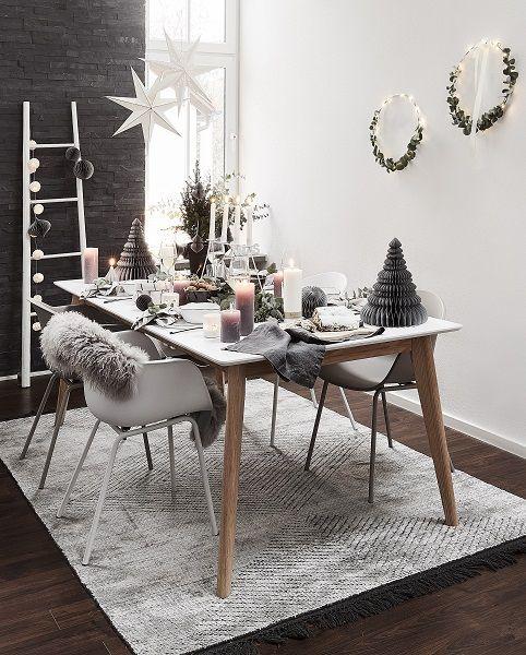 scandi christmas an dieser wundersch nen weihnachtstafel. Black Bedroom Furniture Sets. Home Design Ideas