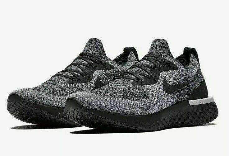 "Nike Epic React Flyknit Running Shoes /""Oreo/"" Black White AQ0067-011 Men/'s NEW"